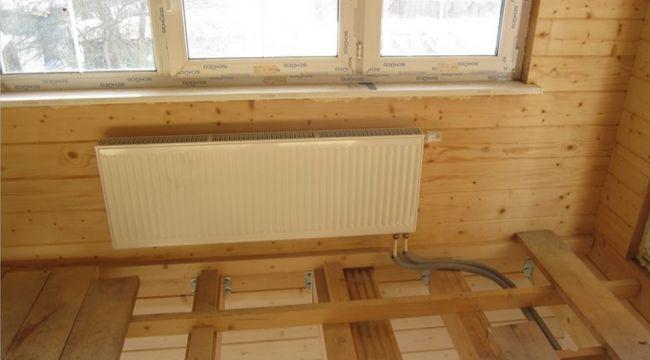 Радиатор в бане