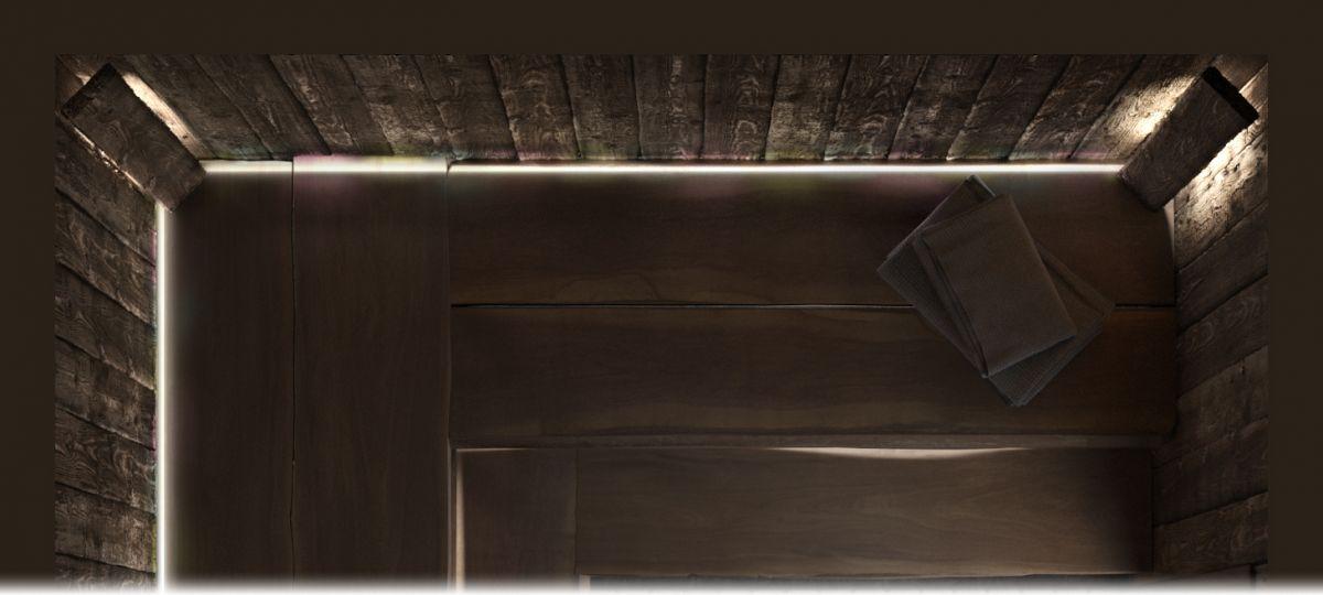 План парной с дровяной печью «Каллисто» 3х2,9 под ключ
